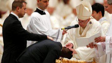 pope-baptize