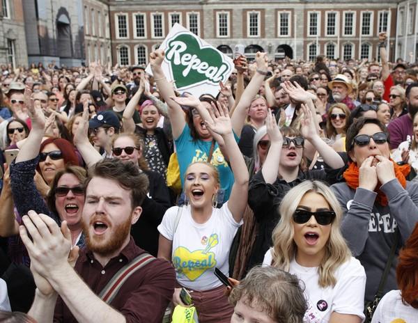 Image result for irish abortion referendum