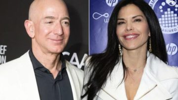 jeff bezos and new girl friend