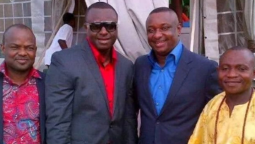 Festus Keyamo with FBI Suspect